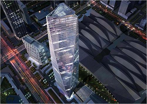 Incheon Northeast Asia Trade Centre 305m 1001ft 68
