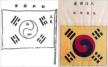 The oldest Taegukgi, the national flag of Korea, was found. This version is listed in ��Flags of Maritime Nations,�� published by the Bureau of Navigation at the U.S. Navy Department in July 1882. This version uses the four trigrams from the Book of Changes. Until now, Park Yeong-hyo was known as the first person to use four trigrams from the Book of Changes. The flag was published two or three months before Park moved to Japan.