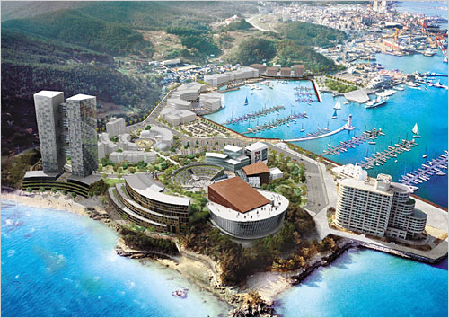 Tongyeong-si South Korea  city images : ... Tongyeong Concert Hall that will alter the skyline of Tongyeong once