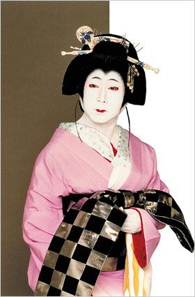 Kabuki Great Takes Role Of 53 Years To Korea The Chosun Ilbo - Kabuki-makeup
