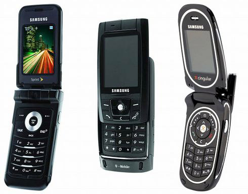 Samsung Cell Phone All Models
