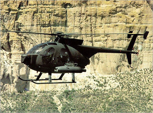 A 500MD light attack helicopter