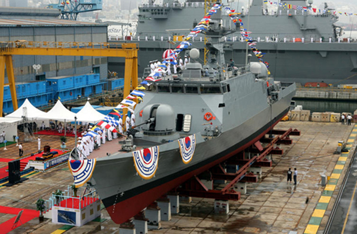Cutting-Edge High-Speed Patrol Boat Launched - The Chosun