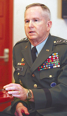 U.S. Forces Korea Commander Gen. Burwell Bell
