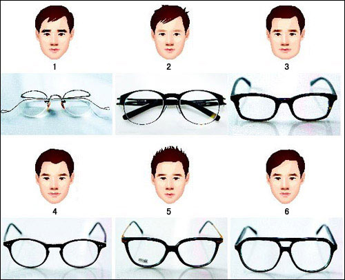 Glasses Frames For Wide Face : A Fresh Look at Stylish Glasses - The Chosun Ilbo (English ...