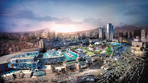 An artists impression of Seoul Convention Center /Courtesy of Seoul Metropolitan Government