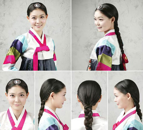 Traditional Hairstyles For Modern Beauties The Chosun Ilbo