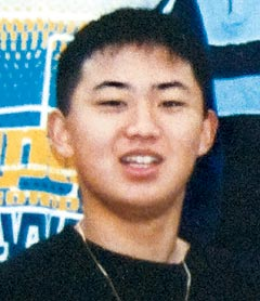 A picture of on North Korean heir apparent Kim Jong-un at the age of 16