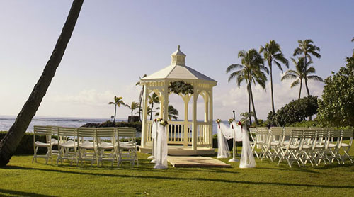The Kahala Hotel and Resort in Hawaii, where Lee Young-ae married her mystery husband. /Courtesy of Hawaii Wedding Story