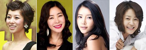 From left, Jang Shin-young, Lee Hye-young, Chae Jung-an, Ko Hyun-jung