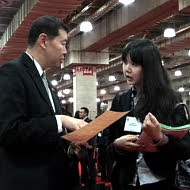 Asian job recruiters are looking for Asian students educated at U.S. universities.
