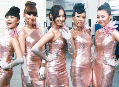 6832ff068c5cc Hard work and clever marketing helped propel the Wonder Girls to success in  the U.S. The five-member group toured the U.S. from June to August as the  ...