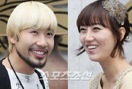 Noh Hong-chul (left) and Jang Yoon-jung