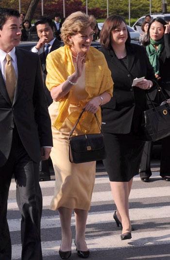 U.S. Ambassador to Korea Kathleen Stephens