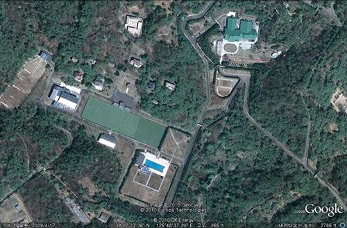 Kim Jong-ils house in Pyongyang /Google Earth