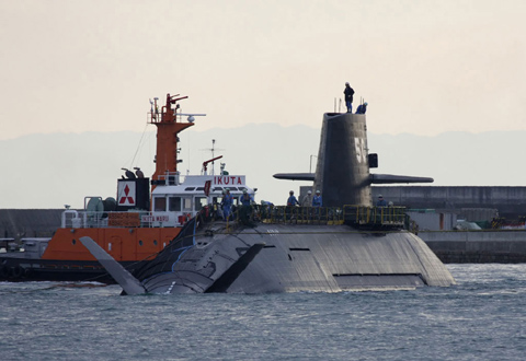 Japans new class of diesel-powered Soryu submarines. /Courtesy of Military-Today.com   