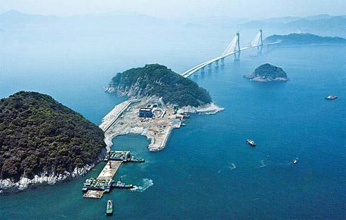 Korea s first undersea tunnel links busan and geoje