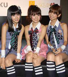 Japanese girl group AKB48