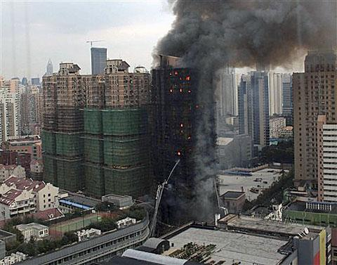 At Least 42 Dead 90 Injured In Apartment Building Fire Shanghai