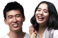 Sean (left) and Jung Hye-young