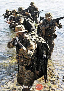 Korean Navys UDT/SEALs (file photo)
