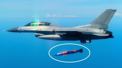 Kf 16 Fighter Jets Fitted With Precision Guided Missiles