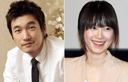Cho Seung-woo (left) and Ku Hye-sun