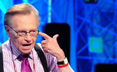 Larry King /Courtesy of SBS
