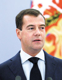 Dmitry Medvedev /Yonhap-Reuters