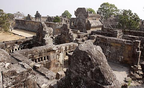 The temple, called Preah Vihear in Cambodia and Phra Viharn in Thailand, was declared a World Heritage site in 2008 (file photo). /AP