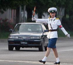 The Pyongyang Traffic Girl various web stories thread 2011092700933_0