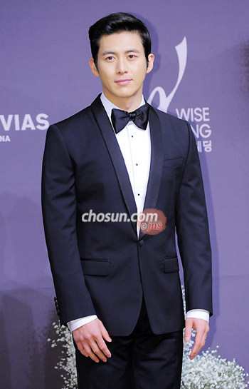 Actor Ko Soo poses before his wedding at a hotel in Seoul on Friday.