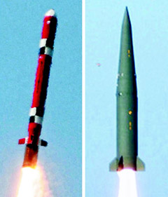 The Hyunmu-3 cruise missile and Hyunmu-2 ballistic missile
