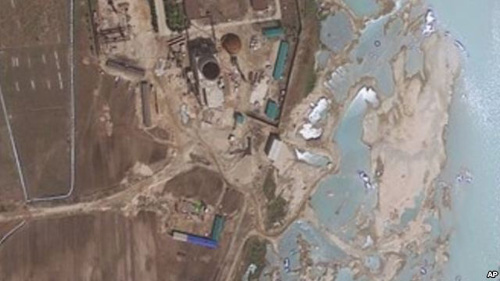 New satellite images like this one show North Koreas resumption of work at Yongbyon nuclear complex on April 30, 2012. /AP