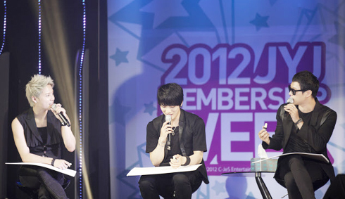 JYJ/ Courtesy of C-Jes Entertainment 