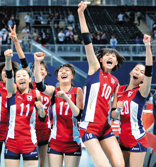Korean Women's Volleyball Team Beat Odds to Semifinal ...