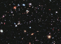 NASAs Hubble Space Telescope reveals earliest known galaxies, going back almost to the beginning of time. /NASA