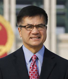 U.S. Ambassador to China Gary Locke on Sept. 20, 2012 /AP