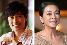 Lee Byung-hun (left) and Cho Min-soo