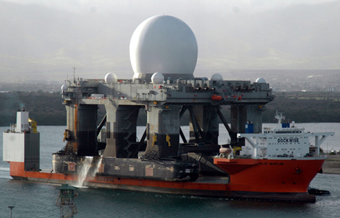 A Sea-Based X-Band Radar /From the Pentagon's website