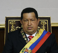 Venezuelas President Hugo Chavez attends a special session at the National Assembly commemorating the countrys Independence Day, in Caracas, Venezuela on July 5, 2012. /AP