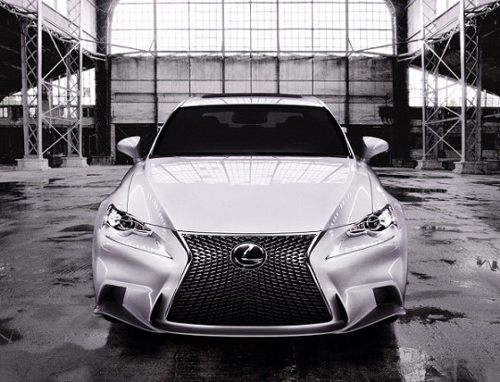 Toyotas updated version of the Lexus IS /Courtesy of Toyota Korea