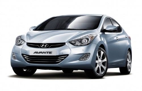 The Hyundai Avante /Courtesy of Hyundai Motor