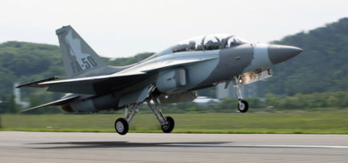 Philippines Plans to Buy FA-50 Jets from Korea