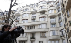 Building believed to contain home of IMF Managing Director Christine Lagarde, Paris on March 20, 2013. /AP