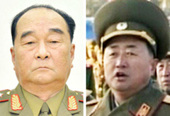 Kim Kyok-sik (left) and Jang Jong-nam