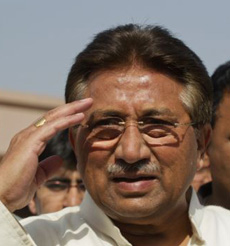 Pakistans former President Pervez Musharraf (file photo) /Reuters