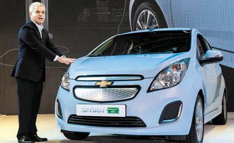 The Spark EV /Courtesy of GM Korea