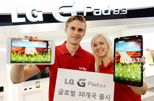 LG to Launch Tablet PC in 30 Countries