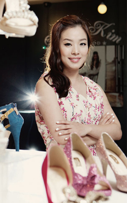 Jinny Kim Shoe Designer To The Stars The Chosun Ilbo